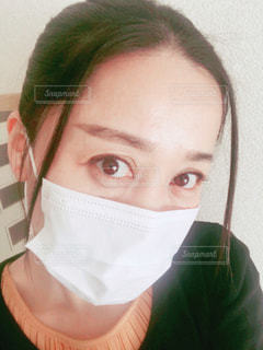 マスクをした女性の写真・画像素材[2967585]