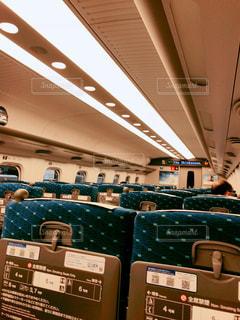 新幹線車内の写真・画像素材[3017902]