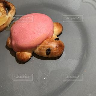 ピンクのカメパンの写真・画像素材[3023696]