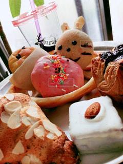 菓子パンの写真・画像素材[3024048]