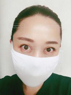 マスク女性の写真・画像素材[3058129]