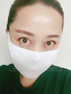 マスクをした女性の写真・画像素材[3058143]