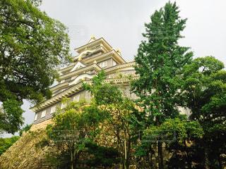 建物の前にツリーの写真・画像素材[776114]