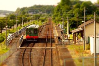 真岡鉄道線の写真・画像素材[1206591]