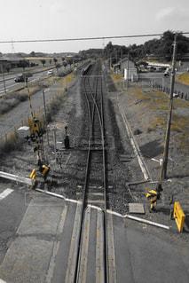 鋼のトラックの列車の写真・画像素材[1206617]