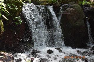 小さな滝の写真・画像素材[776379]