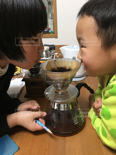 コーヒーの香りに誘われての写真・画像素材[781091]