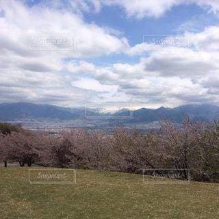 ゴルフ場からの景色の写真・画像素材[777265]