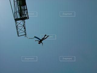 バンジージャンプの写真・画像素材[777300]