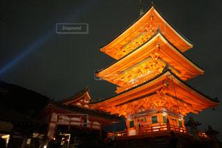 清水寺ライトアップの写真・画像素材[779443]