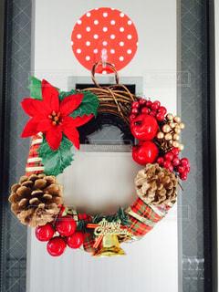 手作りクリスマスリース - No.779975