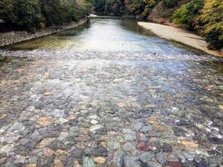 水の体を流れる川の写真・画像素材[846730]
