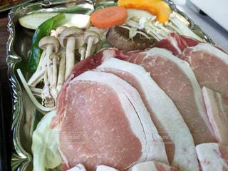 肉と野菜でバーベキューの写真・画像素材[780121]