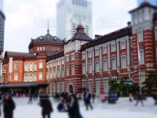 東京駅の近くの写真・画像素材[969113]