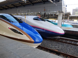 北陸新幹線の写真・画像素材[1004302]