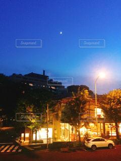 夜の街の景色の写真・画像素材[853406]