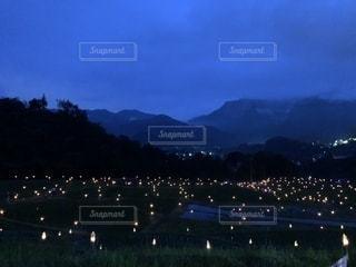 夜の街の景色の写真・画像素材[1288396]