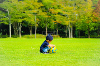 初めてのサッカーボール - No.781025