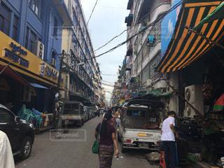 ミャンマーの日常の写真・画像素材[782032]