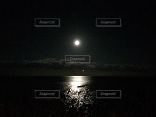 月の道の写真・画像素材[846353]