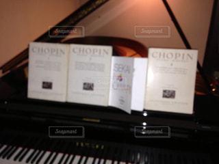 ピアノの鍵盤の写真・画像素材[781008]