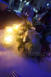 結婚式にてキャンドルサービス - No.781087