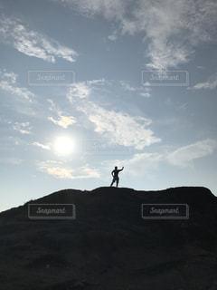 空には雲のグループの写真・画像素材[788056]