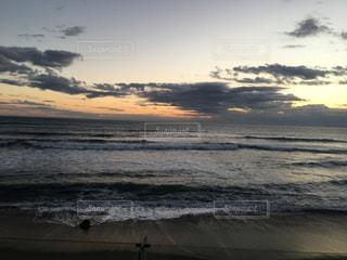 太平洋の日の出の写真・画像素材[1745420]