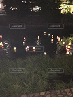 夜のトラフィックでいっぱいですストップ ライトの写真・画像素材[782660]