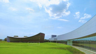 館林美術館の曲線美の写真・画像素材[804459]