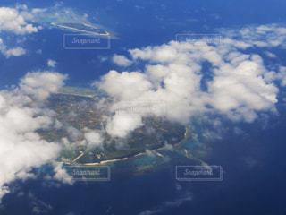 飛行機からの眺めの写真・画像素材[806340]