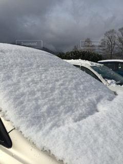 雪に覆われた斜面の写真・画像素材[786557]
