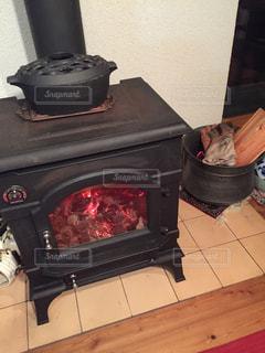 暖炉の写真・画像素材[843773]