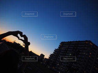 夕焼けの写真・画像素材[957494]