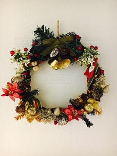クリスマス リースの写真・画像素材[784385]