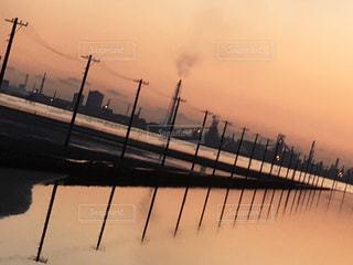 千葉県のウユニ塩湖の写真・画像素材[785672]