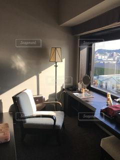 大きな窓のある北海道のホテルの写真・画像素材[784291]