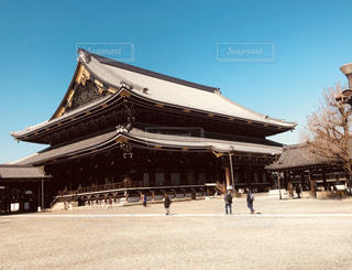 東本願寺の写真・画像素材[1023325]