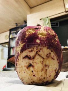サツマイモ彫刻 トトロの写真・画像素材[1526555]