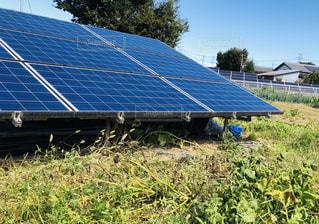 太陽光発電の写真・画像素材[1526568]