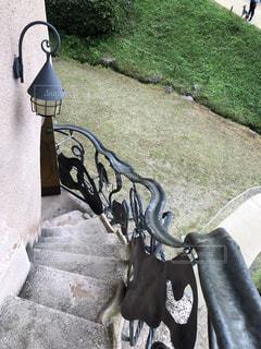 キノコの家 階段の写真・画像素材[1529649]