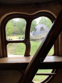 ムーミンの家の窓の写真・画像素材[1529654]