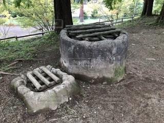ムーミン谷の井戸の写真・画像素材[1529658]