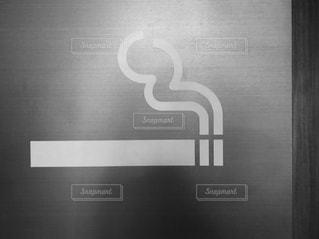 喫煙マークの写真・画像素材[1573510]