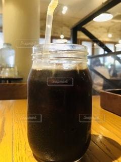 アイスコーヒーの写真・画像素材[2656164]