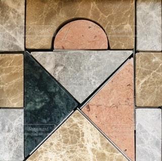 大理石の積み木の写真・画像素材[2690371]