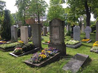 ドイツ・ヨーロッパのお墓の写真・画像素材[787765]