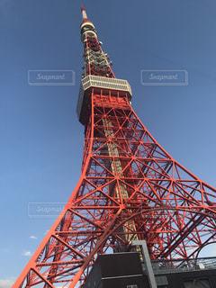 空と東京タワーの写真・画像素材[784713]