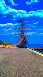 水体の船の写真・画像素材[964103]