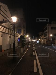 夜の成田山参道の写真・画像素材[785316]